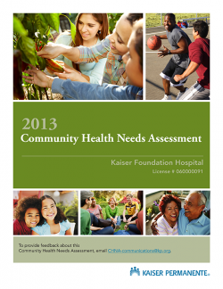 Image of 2013 CHNA Report Cover