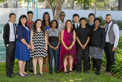 Thumbnail image of South L.A. Students Honored for Volunteerism