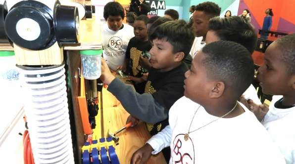 Thumbnail image of New STEAM Lab Inspires Students to Dream Big