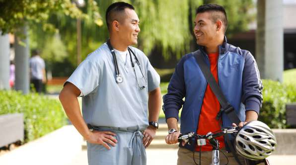 Thumbnail image of Workshops Aim to Boost Number of Latino Doctors