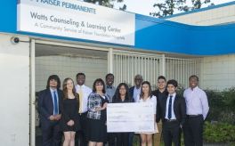 Thumbnail image of Watts-area Students are Recognized for Community Leadership