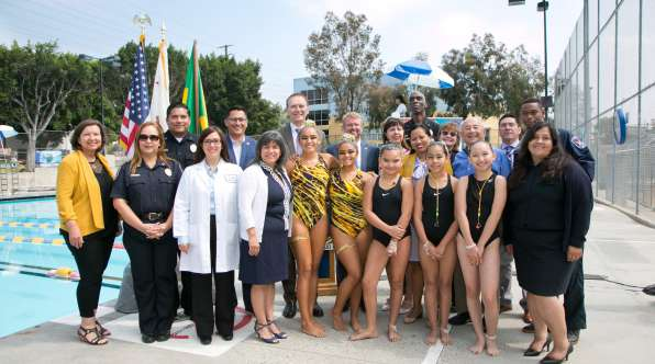 Thumbnail image of Low-Income Youth Receive Free Swim Lessons Through Operation Splash