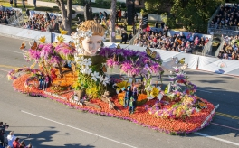 Thumbnail image of Community Health Advocates Take Center Stage on Rose Parade® Float