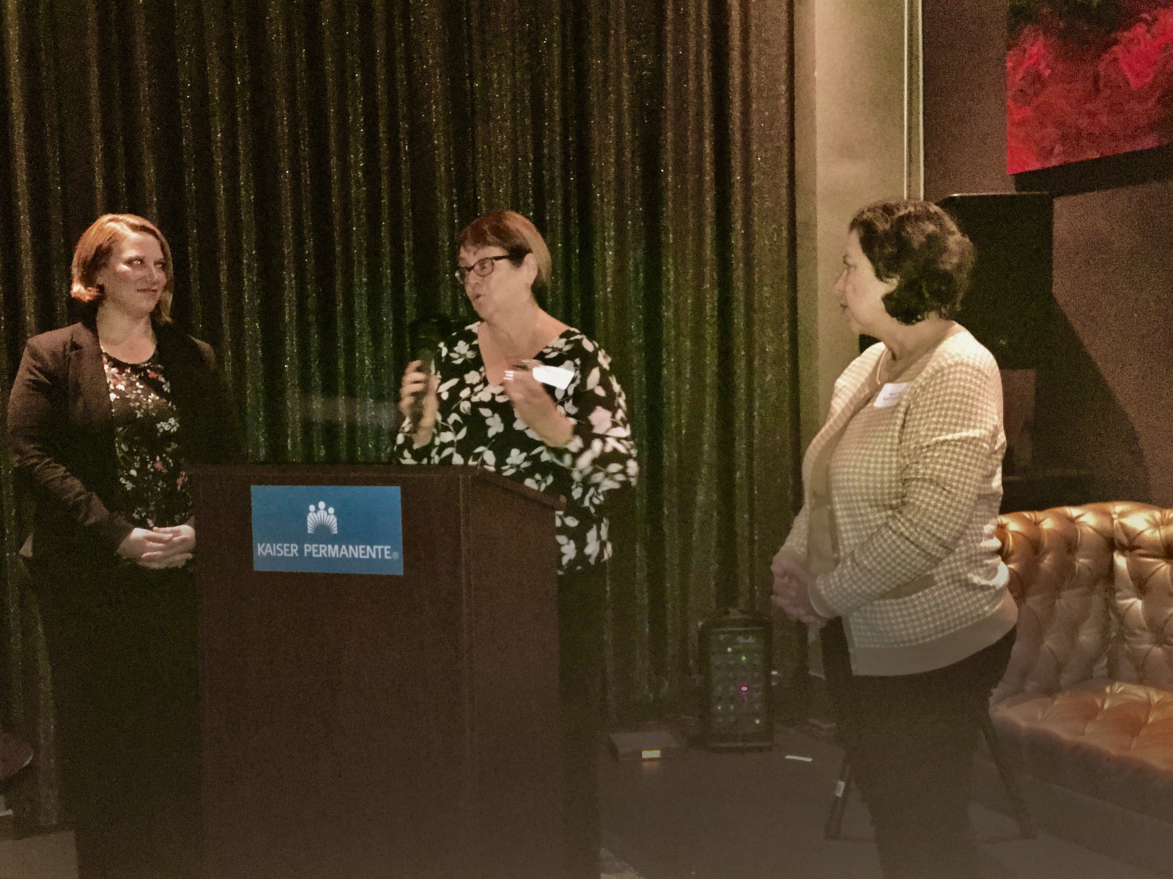 From left, Kristin Weber, Debbie Wood, and Angela Coron.